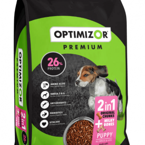 Optimizor Premium Puppy Milky Bones Dog Food