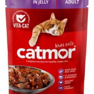 Catmor Liver Chunks In Jelly Cat Food