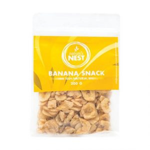 Natures Nest Bird Banana Snack