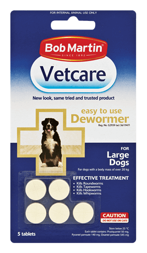 Dewormer Tablets For Large Dogs