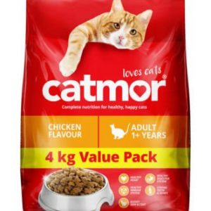 Catmor Chicken Flavour Dry Cat Food