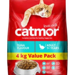 Catmor Tuna Adult Dry Cat Food Value Pack 4kg