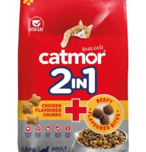 Catmor 2 In 1 Adult Cat Food