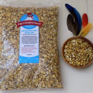 Parrot White Herbal Seed Mix